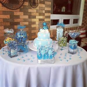 Frozen Candy Bar Birthday Party