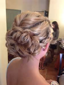 Braided Wedding Updo Hairstyles for Bridesmaids