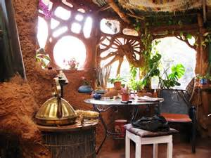 Cob Hobbit House Interiors