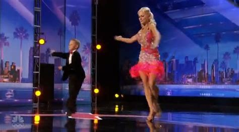 dancing mom  son alla  daniel wows  americas