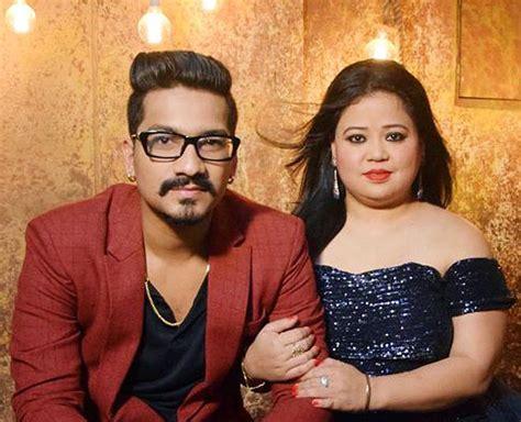 Comedian Bharti Singh and husband Haarsh Limbachiyaa ...