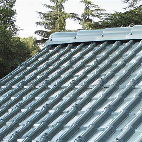 Plaque Imitation Tuile Composite Gris First Plast Tegola L