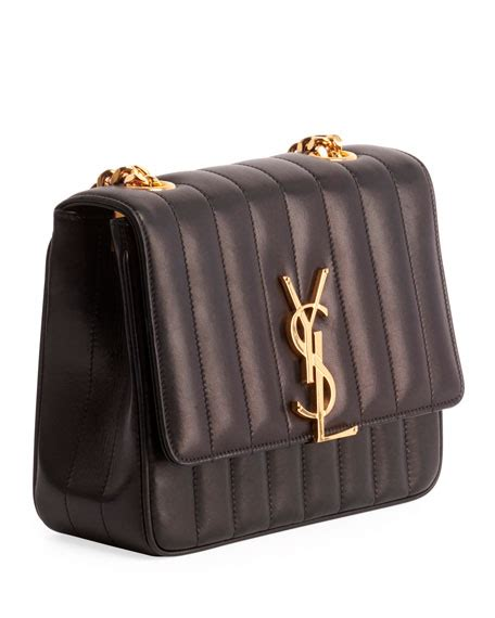 saint laurent vicky medium ysl monogram chain crossbody bag