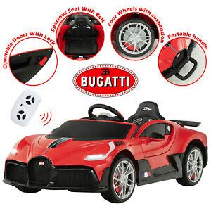 To make that statement true, engineers reduced weight by 77 pounds, and added 198 pounds of. Bugatti Divo Kids Ride On Car 12V Electric Toy Cars Remote ...
