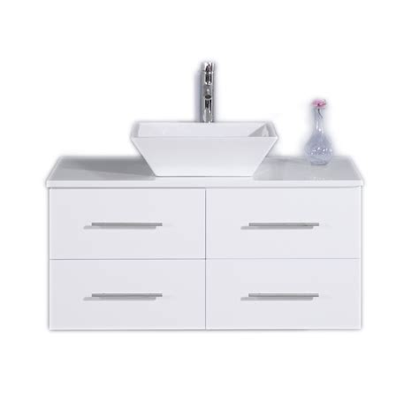 totti wave   white modern bathroom vanity