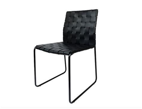 mesh dining chair black