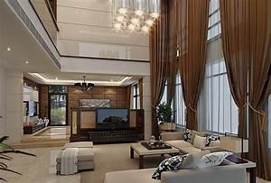10, Curtain, Ideas, For, An, Elegant, Living, Room