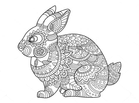 zentangle coloring pages animals  coloring