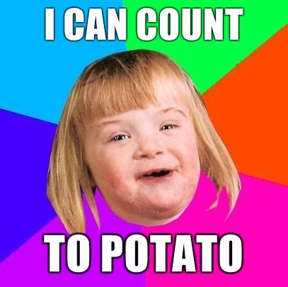 Potato Meme - image 128749 i can count to potato know your meme