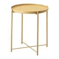 ikea side table uk gladom tray table light yellow 45x53 cm ikea