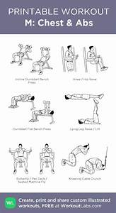 M  Chest  U0026 Abs  My Visual Workout Created At Workoutlabs
