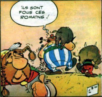 ils sont fous ces romains asterix obelix idefix och