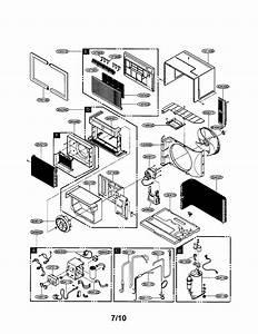 Lg Room A  C Parts