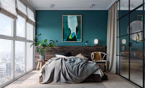 bleu canard chambre osez une déco couleur bleu canard dans votre intérieur