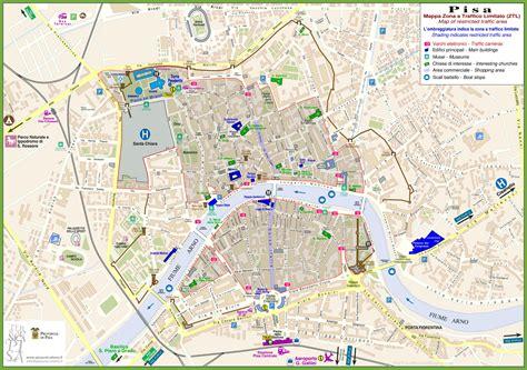 pisa sightseeing map