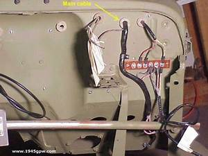 Mb Gpw Installing Your Firewall Grommets On Your Wwii Jeep
