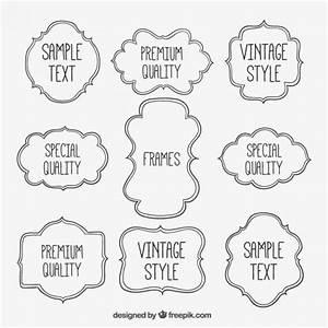 Sketchy frames Vector | Free Download
