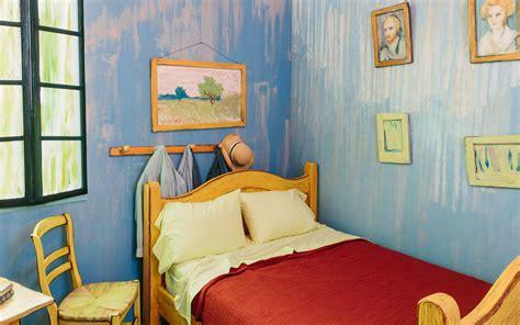 vincent van gogh bedroom  airbnb travel leisure