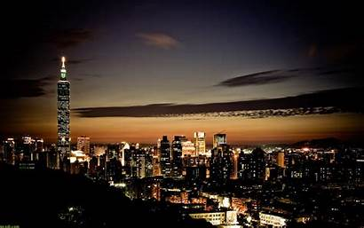 Wallpapers Night Landscape Lights Pretty Nice Cityscapes