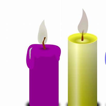 Candles Svg Clipart Yellow Clip Icon Views