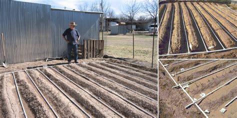 build  drip irrigation system