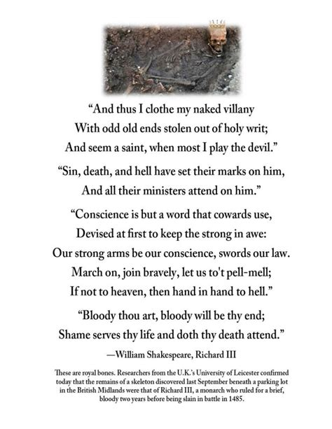 famous quotes from shakespeare's richard iii