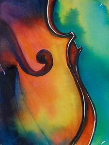 Daily Painters of Pennsylvania: Musically Inclined (Violin ...