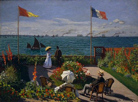 garden at sainte adresse garden at sainte adresse by claude monet facts about the