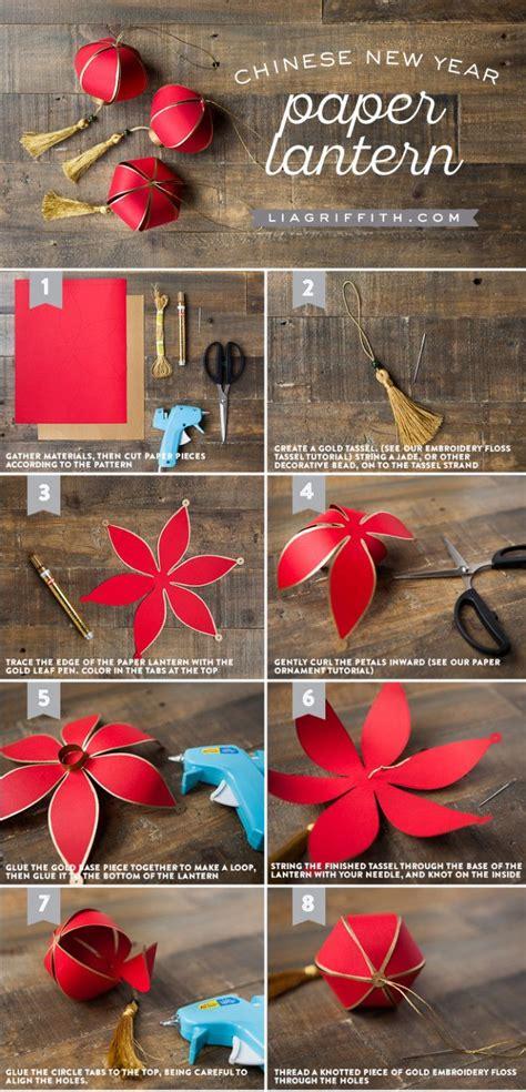 Diy Chinese New Year Paper Lantern  Crafting Tutorials