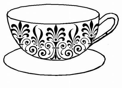 Drawing Teacup Tea Cup Line Drawings Drawn