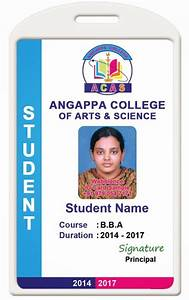 contemporary school id card template ornament resume With school id badge template