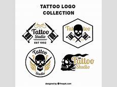 Pack Of Skull Tattoos Logos Vector Free Download