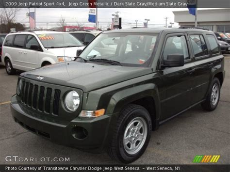 dark green jeep patriot jeep green metallic 2009 jeep patriot sport 4x4 dark