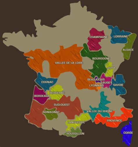 Acheter Carte Des Vignobles Français by Carte Des Vins D 233 Couvrez Les R 233 Gions Viticoles Et Leur
