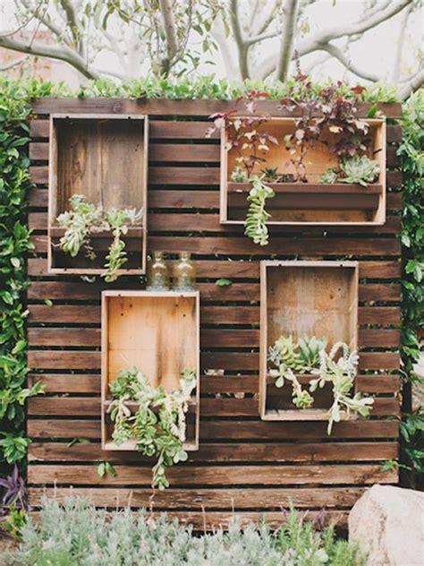 muros de madera  jardin buscar  google jardines