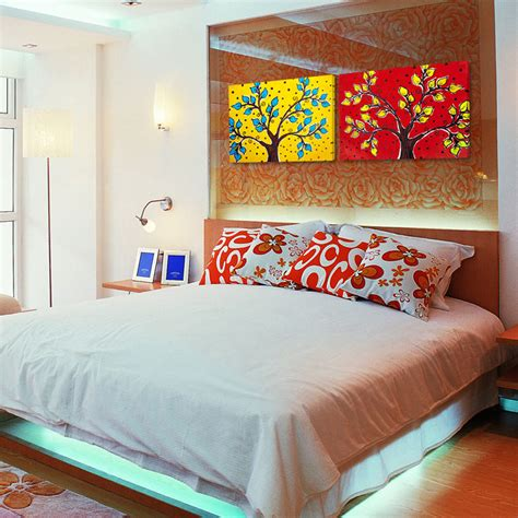 Bedroom Paintings by Wall Paintings For Modern Bedroom Interior Design