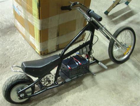 Razor Electric Mini Chopper Mod Help