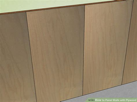 How To Panel Walls With Plywood
