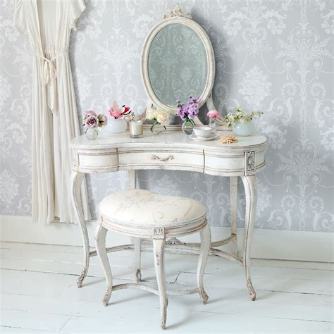 table chambre delphine shabby chic dressing table bedroom company