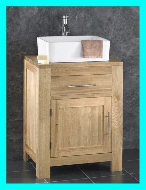 Wooden Bathroom Sink Cabinets by Alto Solid Oak Wooden Cabinet Sink Washbasin Bathroom Sink