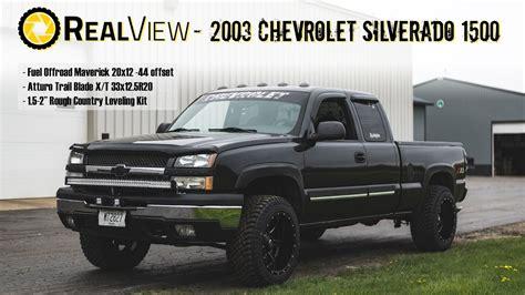 realview leveled  chevy silverado    fuel