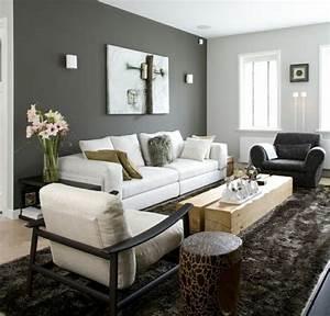 Grau Grün Wandfarbe : die graue wandfarbe im wohnzimmer top trend f r 2015 ~ Frokenaadalensverden.com Haus und Dekorationen