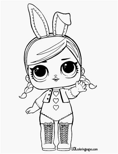 fresh lol doll coloring pages black  white colouring