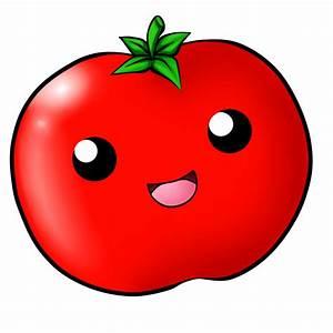 Kawaii Tomato by ChloeIsABunny on DeviantArt