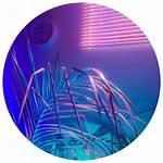 Aesthetic Purple Circle Icon Picsart Pngkey Blueaesthetic