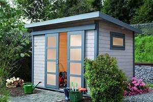Schiebetür Für Gartenhaus : gartenhaus flachdach 240x300 cm holz haus bausatz mit ~ Whattoseeinmadrid.com Haus und Dekorationen
