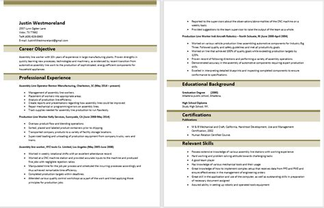 Assembly Line Resume by Assembly Line Worker Resume 15 Inspirational Letter