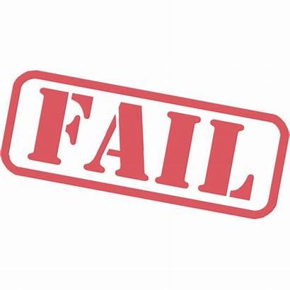 Fail Stamp Transparent Failed Icon Clipart Failures