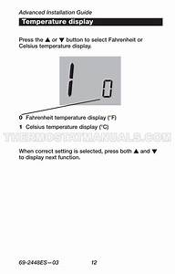 Honeywell Rth221b Thermostat Quick Installation Guide