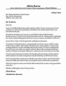 Career Objectives For Customer Service Restaurant Manager Cover Letter Sample